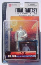 Final Fantasy Spirits Within Action Figure Dr. Sid Bandai - $12.00