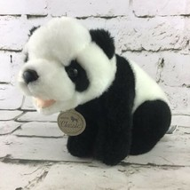 Aurora Classics Panda Bear Plush Natural Wildlife Stuffed Animal Vintage... - $11.88
