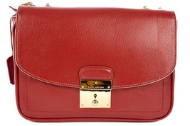 Marc Jacobs women's leather shoulder bag original mini polly red - $350.55