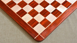 """Wooden Chess Board Blood Red Bud Rose Wood 23"""" - 60 mm-SKU:D0139 (FREE SHIPPING) - $338.99"""