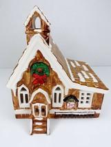 Dept 56 Pioneer Church 1982-1984 Original Retired Snow Village Piece 502... - $87.79