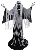 Towering Wailing Soul Animated LifeSize Prop 6.5 Ft Haunted House Decora... - €150,07 EUR