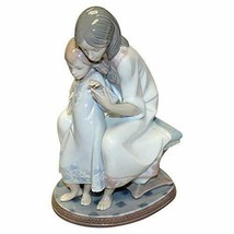 "New Lladro #1527 ""Tenderness"" Mother and Daughter Figurine - $197.99"