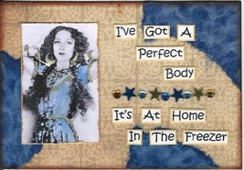 ACEO ATC Art Card Collage Women Ladies Got Perf... - $5.00