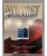 MY FIRST WOHLFAHRT Etudes for the Developing Violin Student Study Book - $17.82