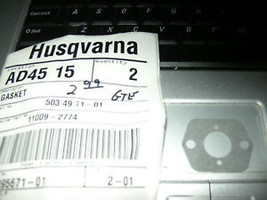Husqvarna 322 325 326 850 Carburetor Gasket New OD - $3.95