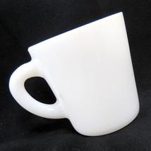 Antique Vintage Hazel-Atlas Solid White Milk Glass Coffee Mug Tea Cup 19... - $11.92