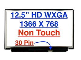 "M125NWR3 12.5"" WXGA eDP LED LCD Screen M125NWR3 R0 H/W:1.3 New Display F... - $69.30"