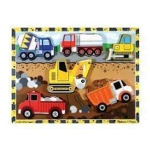 Melissa & Doug Construction Chunky Piece Puzzle #3726 - $10.26