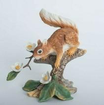 Lenox Woodland Animal Collection Springtime Scamper Red Squirrel Figurine 1989 - $37.61