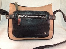 Candies Handbag Shoulder Bag Small Pocket Style Brown & Beige - $17.63