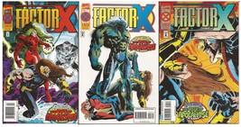 Marvel Factor X Lot #'s 2-4 Age Of Apocalypse Xavier - $2.95