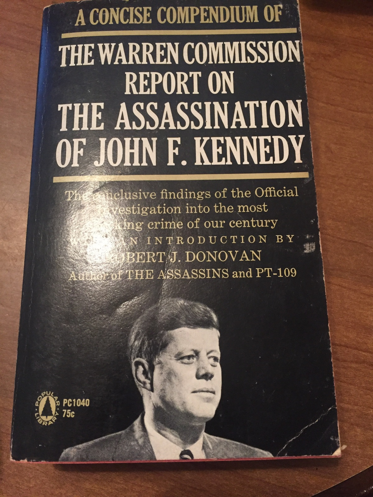 The Warren Comission Report on the Assassination of JFk ras1201