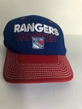 New York Rangers Adidas Flex Fit Hat NHL Hockey Blue - $7.70
