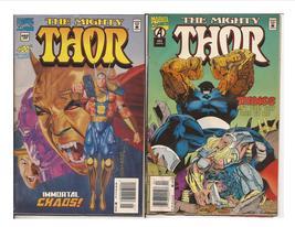 Marvel The Mighty Thor Lot #'s 482 & 485 Asgard Odin Loki  - $1.00