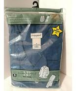 Men XXL Pajamas Big Man 2X Broadcloth NEW Long Leg Long Sleeve Blue Knig... - $25.20