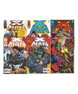 Marvel X Man Lot #'s 3,4,6,7,9, & X-Men #45 Age Of Apocalypse Selene  - $2.95