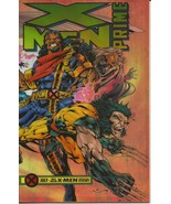 Marvel X-Men Prime July 1995 Wolverine Bishop Racing The Night Special E... - $2.95