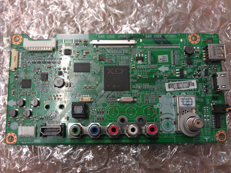 EBU62007604 Main Board From LG 32LN5300-UB Version 1 LCD TV