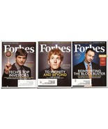 Forbes Lot Ashton Kutcher Thomas Tull Patrick Collison America Best Empl... - $4.95