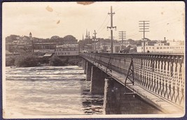 Lewiston Maine RPPC 1936 Great New England Flood Postcard - $15.75