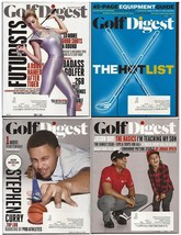 Golf Digest Lot Vol 66 #12 & Vol 67 #1,3, &6 Hot List Steph Curry Jason Day - $3.95
