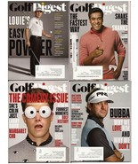 Golf Digest Lot Vol 66 #9-11 Vol 67 #2 World's 100 Greatest Courses Marg... - $3.95