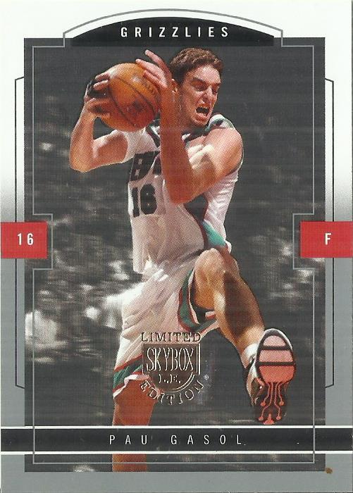 Primary image for 2003-04 SkyBox LE #46 Pau Gasol
