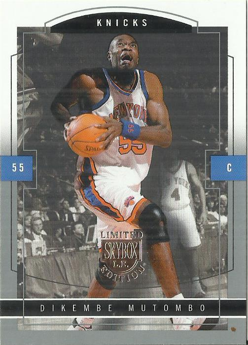 Primary image for 2003-04 SkyBox LE #47 Dikembe Mutombo