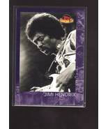 JIMI HENDRIX 2001 TOPPS AMERICAN PIE CARD#144  EXMT  - $3.00