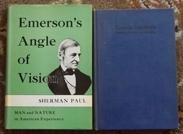 Emerson Handbook Frederic Ives Carpenter, Emerson's Angle of Vision Sher... - $9.99