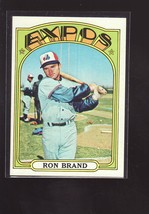 1972 TOPPS BASEBALL CARD#773 RON BRAND  NM-/NM+ NICE EXPOS STAR  - $5.00