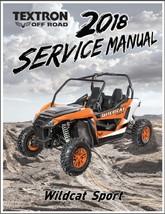 2018 Arctic Cat Wildcat Sport Service Manual on a CD - $12.99