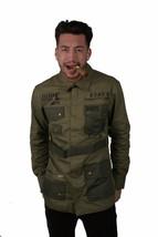 Dope Herren Standard Ausgabe M65 Militär Stil Jacke Nwt