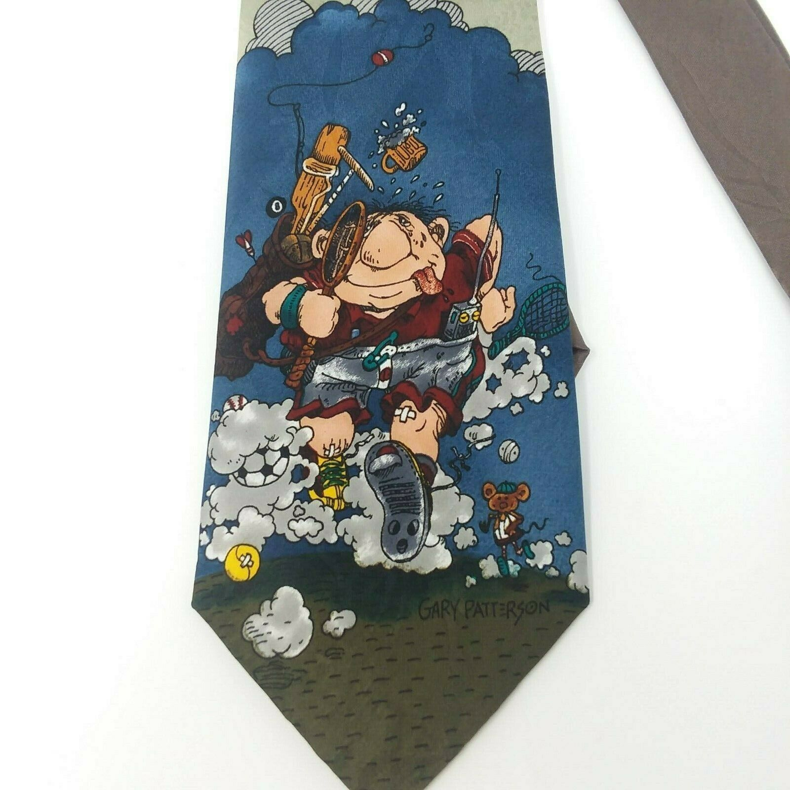 "Primary image for Balancine Hot Cakes Neck Tie ""Weekend Warrior"" Gary Patterson Sports Necktie"