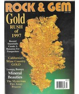Rock and Gem July 1997 (Gold Rush of 1997) Magazine, Periodical - $4.99