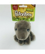 "Russ Petooties Pets Grey Hippo Jungle Friends 5"" Beanbag Plush Adopt Me New - $14.99"