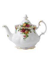 Royal Albert Old Country Roses Teapot LARGE 42 OZ NEW - $93.49