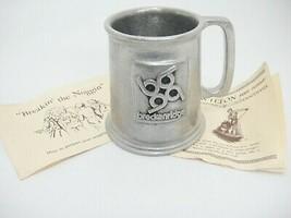 Wilton Armetale Metal Mug Beer Ale Noggin from Breckenridge Colorado Souvenir - $19.79