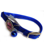 """Cat Safety Collar Expandable Snag Proof """"BLUE"""" Coastal Pet Products 9511s - $7.99"""