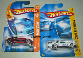 "Lot of 2 Mattel Hot Wheels Cars - Acura NSX & ""Iridium"" - NIP - $14.46"