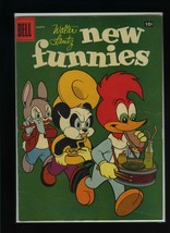 New Funnies #253 VG 1958 Dell Woody Woodpecker Comic Book - $4.89
