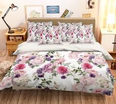 3D Peony Squid 1026 Bed Pillowcases Quilt Duvet Single Queen King US Summer - $102.84+