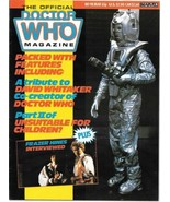 Doctor Who Monthly Comic Magazine #98 Cyberman Cover 1985 VERY FINE- - $4.50