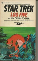 Star Trek Log 5 ORIGINAL Vintage 1975 Paperback Book Ballantine Alan D F... - $19.79