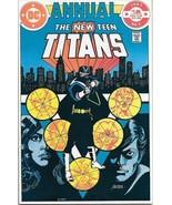 The New Teen Titans Comic Book Annual #2 DC 1st Vigilante 1983 UNREAD VF... - $86.97
