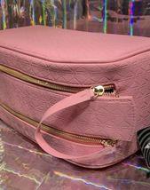 *TRUSTED SELLER* ShipsNOW SHANE DAWSON X JSC Pink Double Zip Pig Imprint Bag NEW image 3