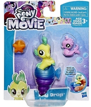 My Little Pony The Movie Baby Seapony Lilly Drop 2017 - $95,71 MXN