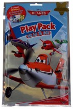 Disney Planes Play Pack Lot 12 Grab Go Coloring Book Crayons Stickers Fa... - $14.49