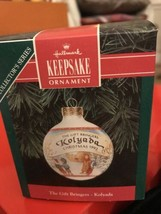 Hallmark Keepsake Glass Ornament Gift Bringer Kolyada Russia Christmas B... - $6.99